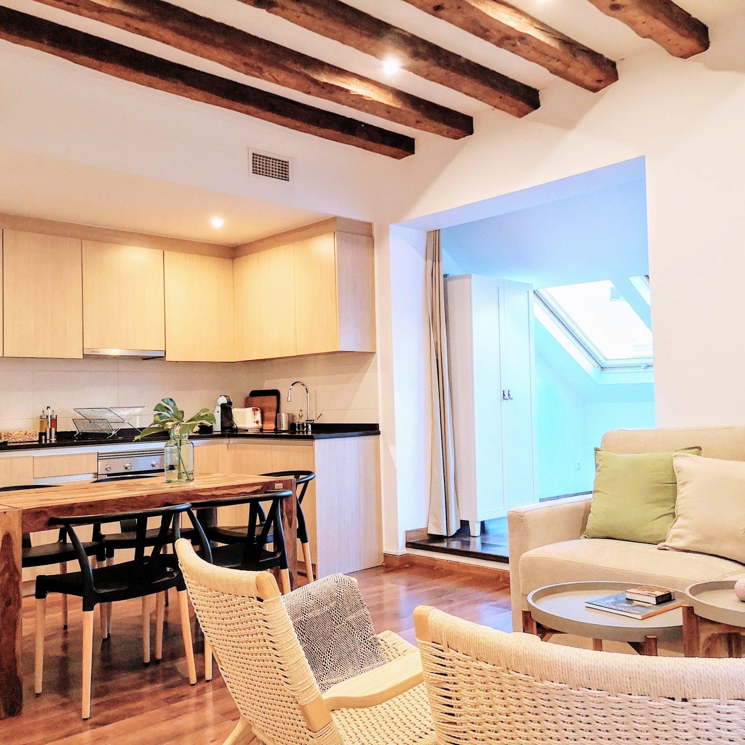 Beautiful expat apartment in Madrid