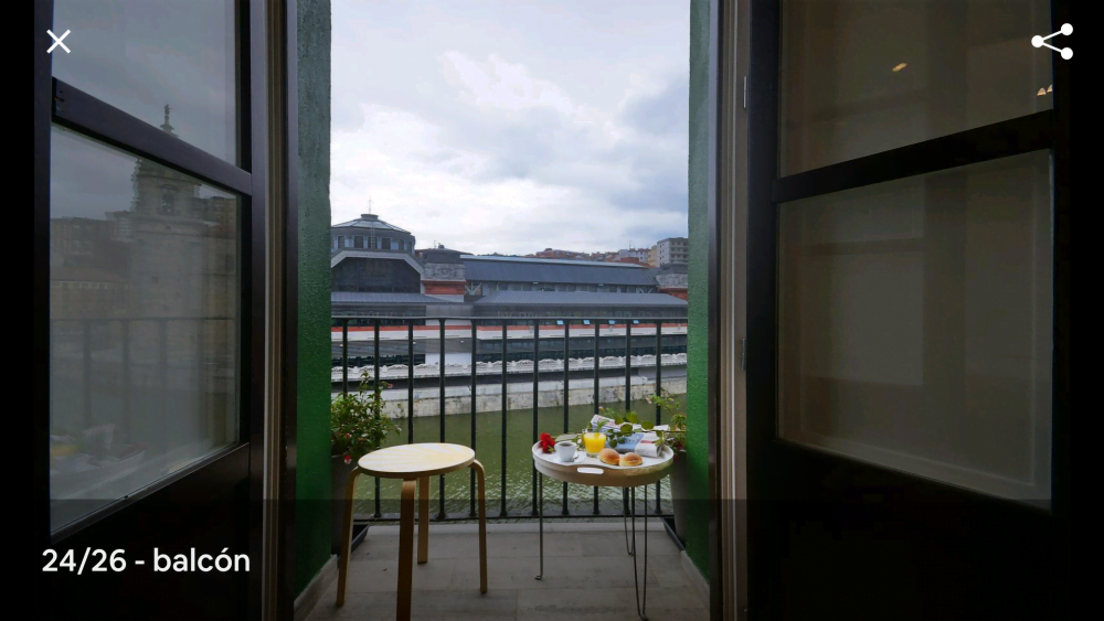 Expat rental in Bilbao center