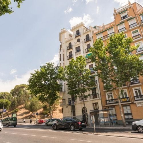 Furnished rental apartment in Madrid Atocha