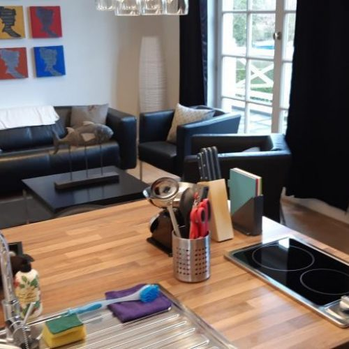Convenient expat flat in north Antwerp