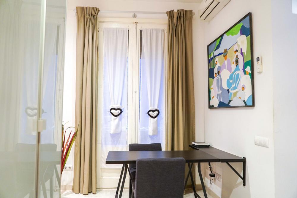Bonito estudio para expats en Barcelona