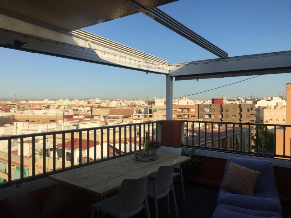 Valencia penthouse with terrace