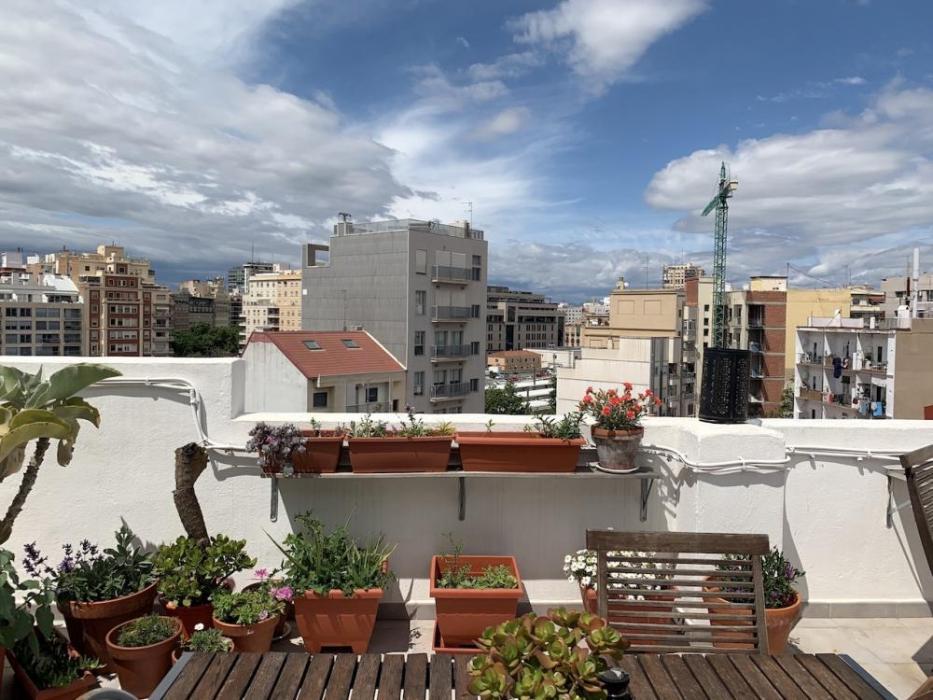 Piso con terraza en Ruzafa Valencia