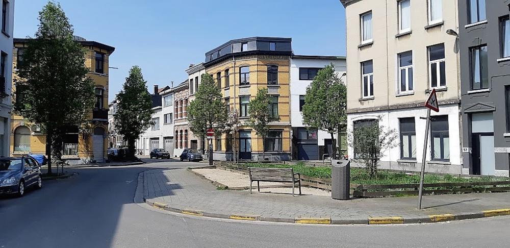 Nice workers housing in Antwerp