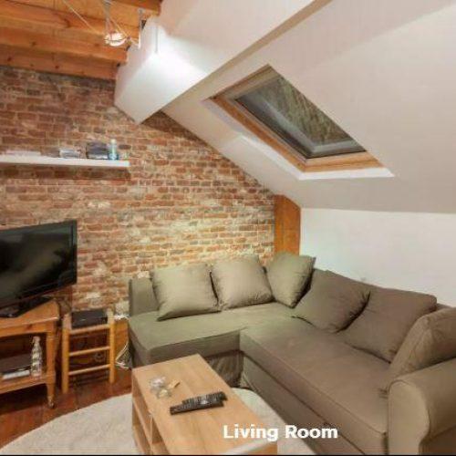 Increíble piso en Bruselas de 1 dormitorio