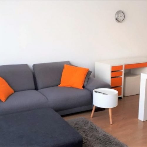 Furnished rental flat in Antwerp north
