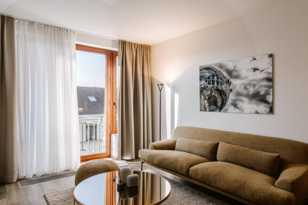 Modern expat rental apartment in Brussels