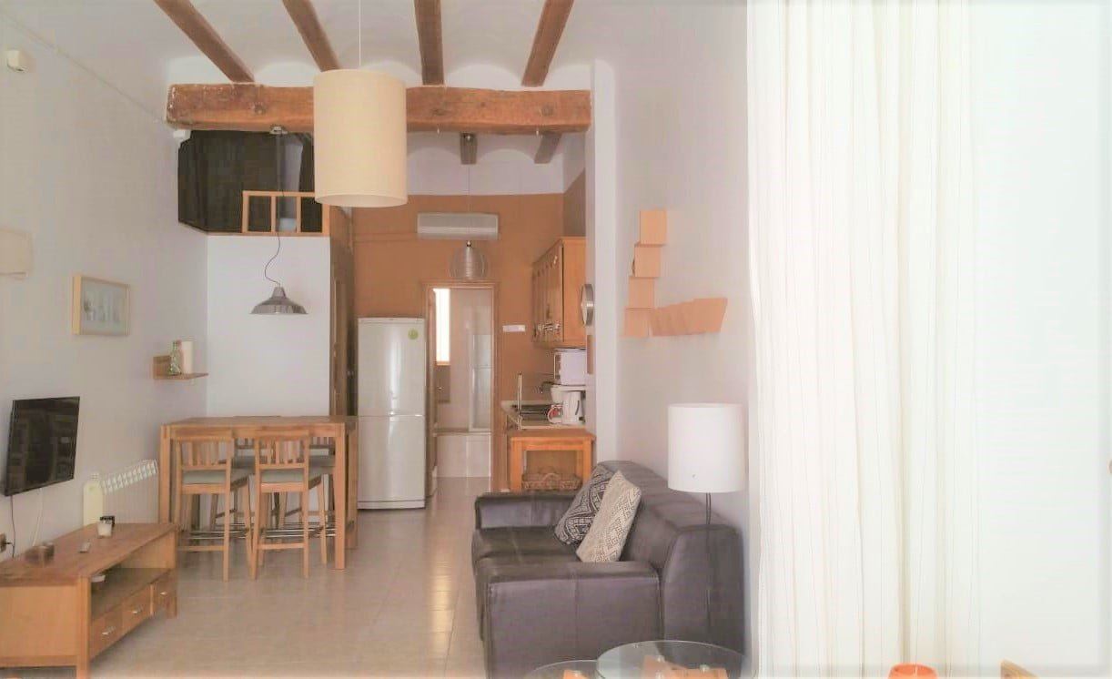 Cozy 1 bedroom rental flat in Valencia
