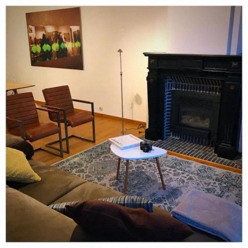 Apartamento con terraza para expats en Gante
