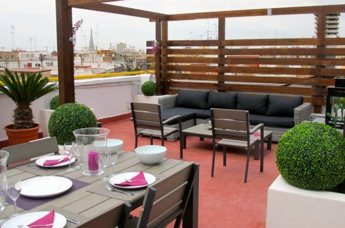 Fabulous penthouse in Valencia for expats