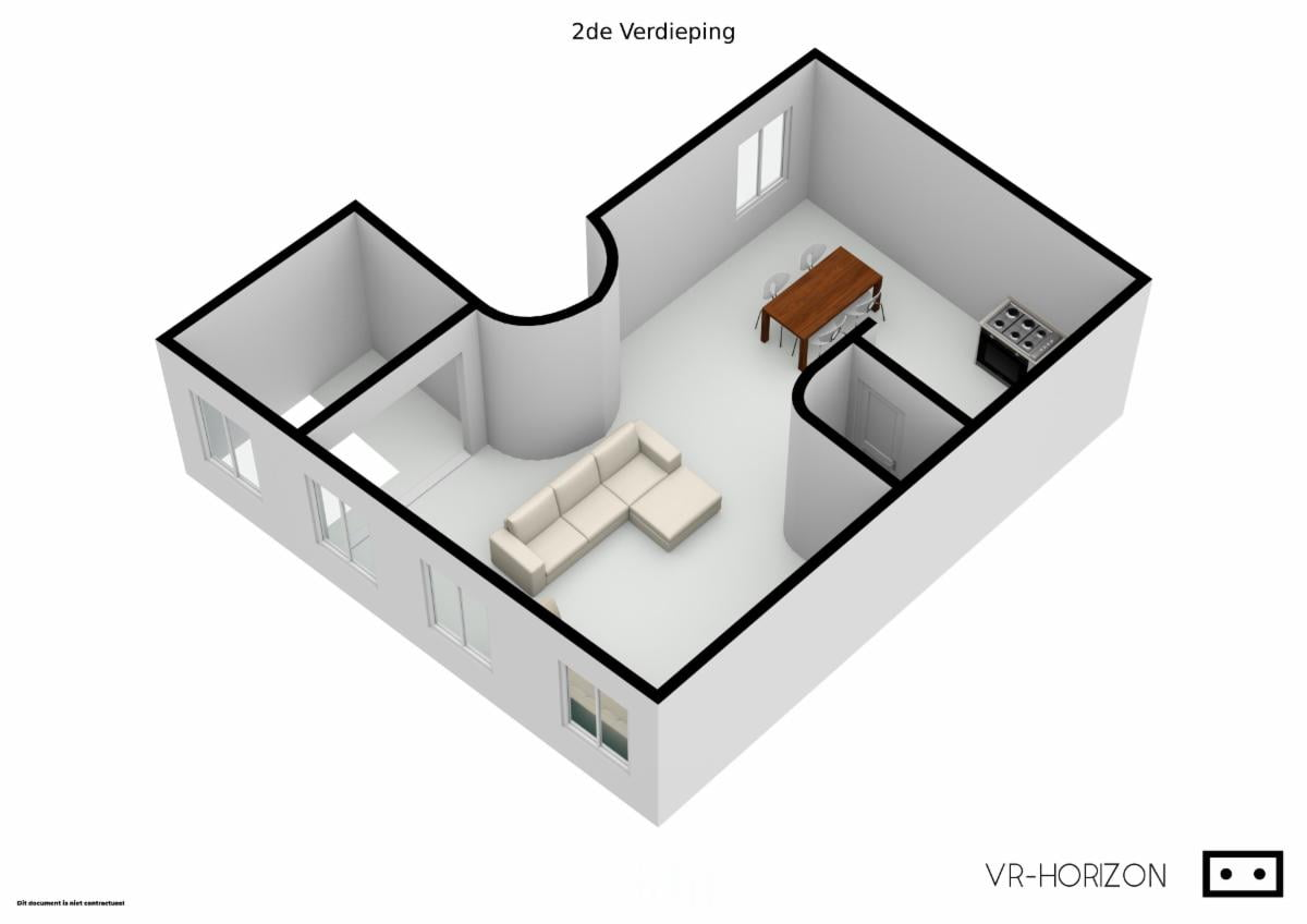 Stadswaag - Antwerp apartment for rent for expats