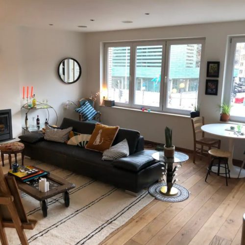 Furnished expat flat in Antwerp