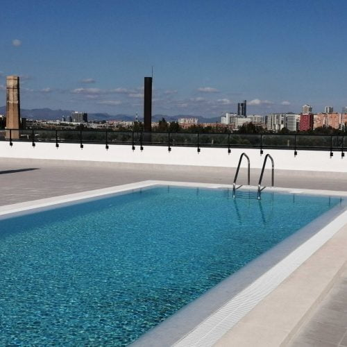 flat with pool in Valencia