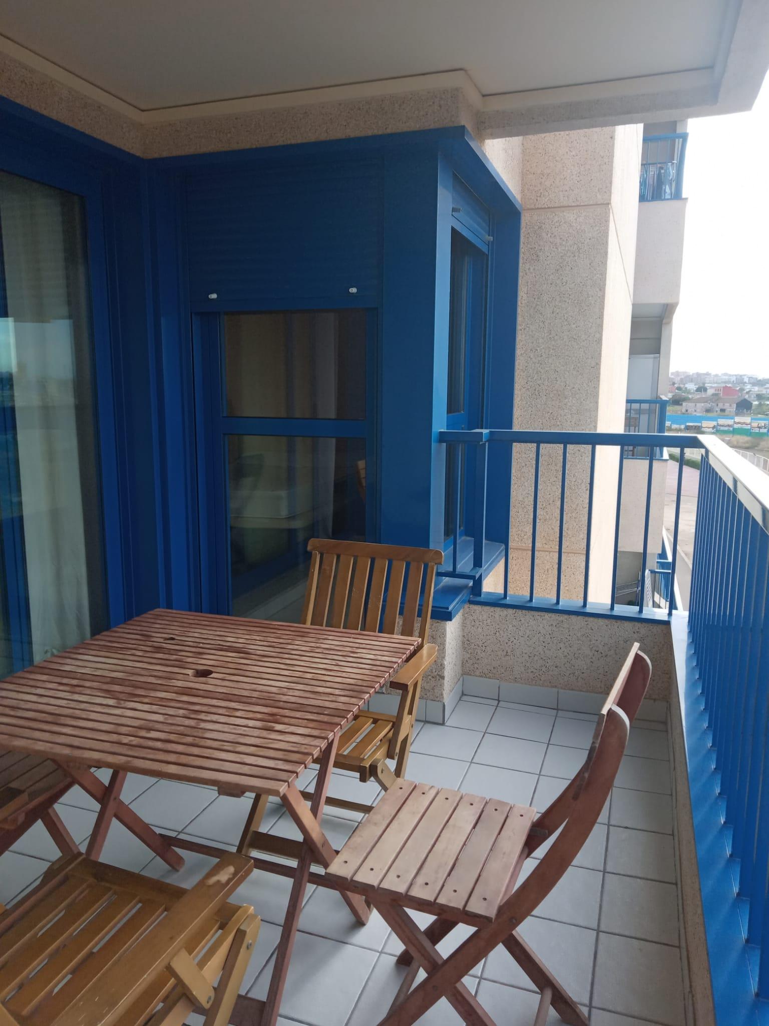 Expat beach flat in Valencia