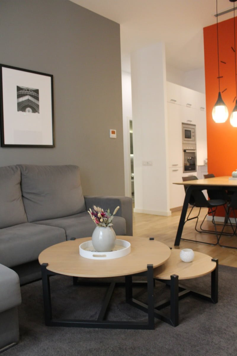 Modern expat flat in Valencia