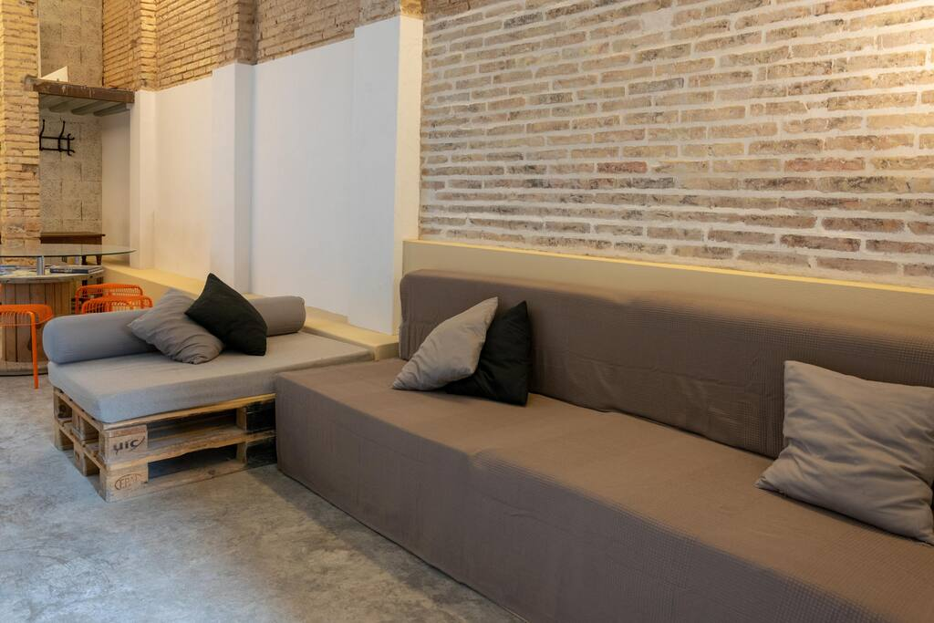Furnished loft in Valencia