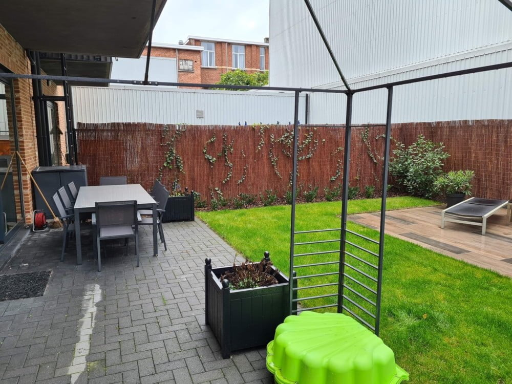 Antwerpen met tuin