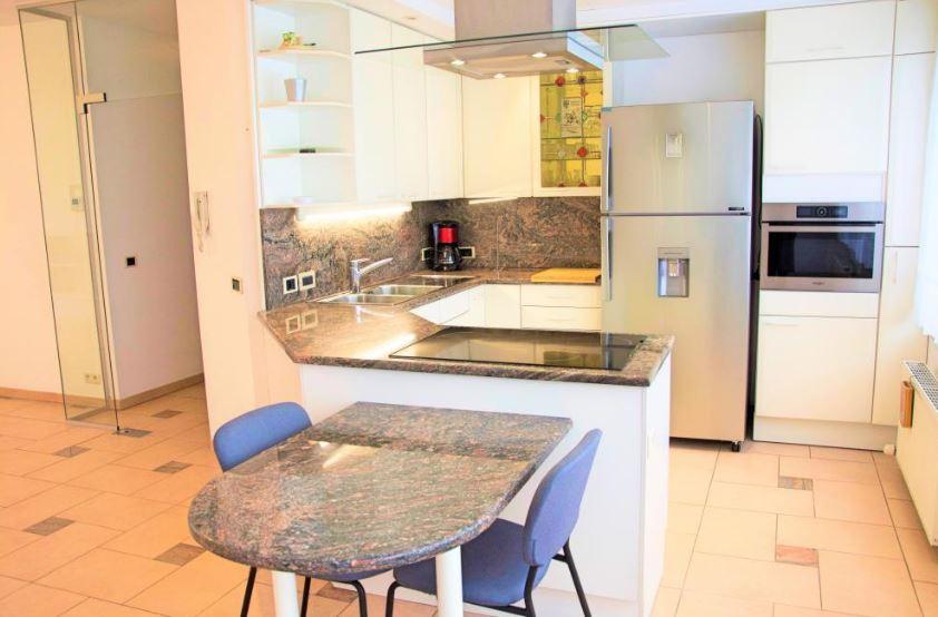 Brede - Groot expat appartement met terras in Hemiksem