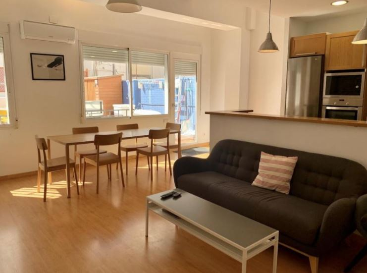 Buenos Aires - Expat rental with terrace in Valencia