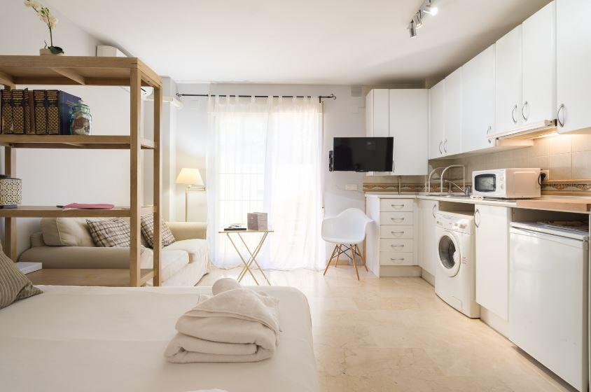 Bonito estudio en Málaga para expats