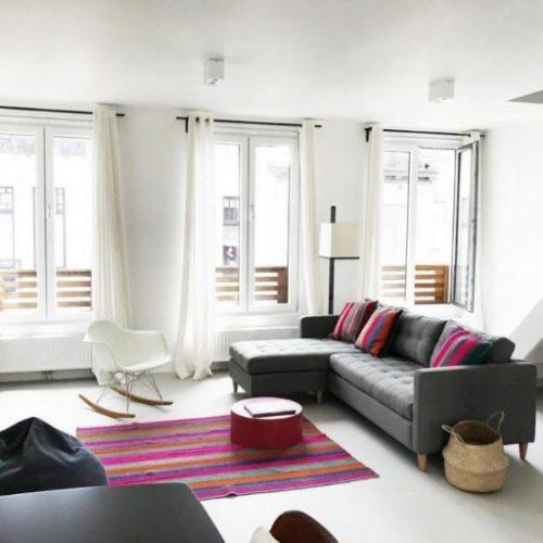 Great duplex expat apartment in Antwerp