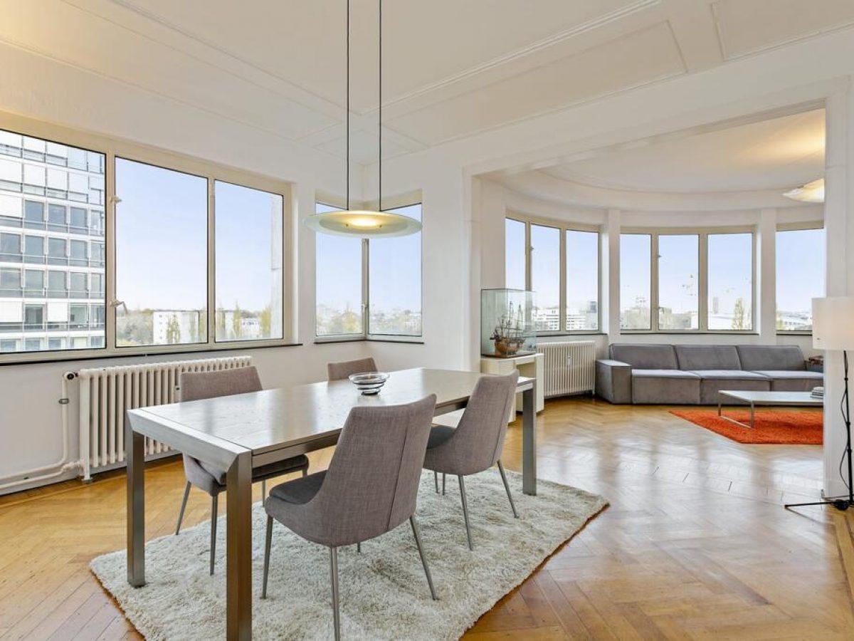Rotonde - Panorama expat apartment in Antwerp