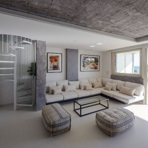 Casa Pirulo - Expat penthouse in Malaga with seaview