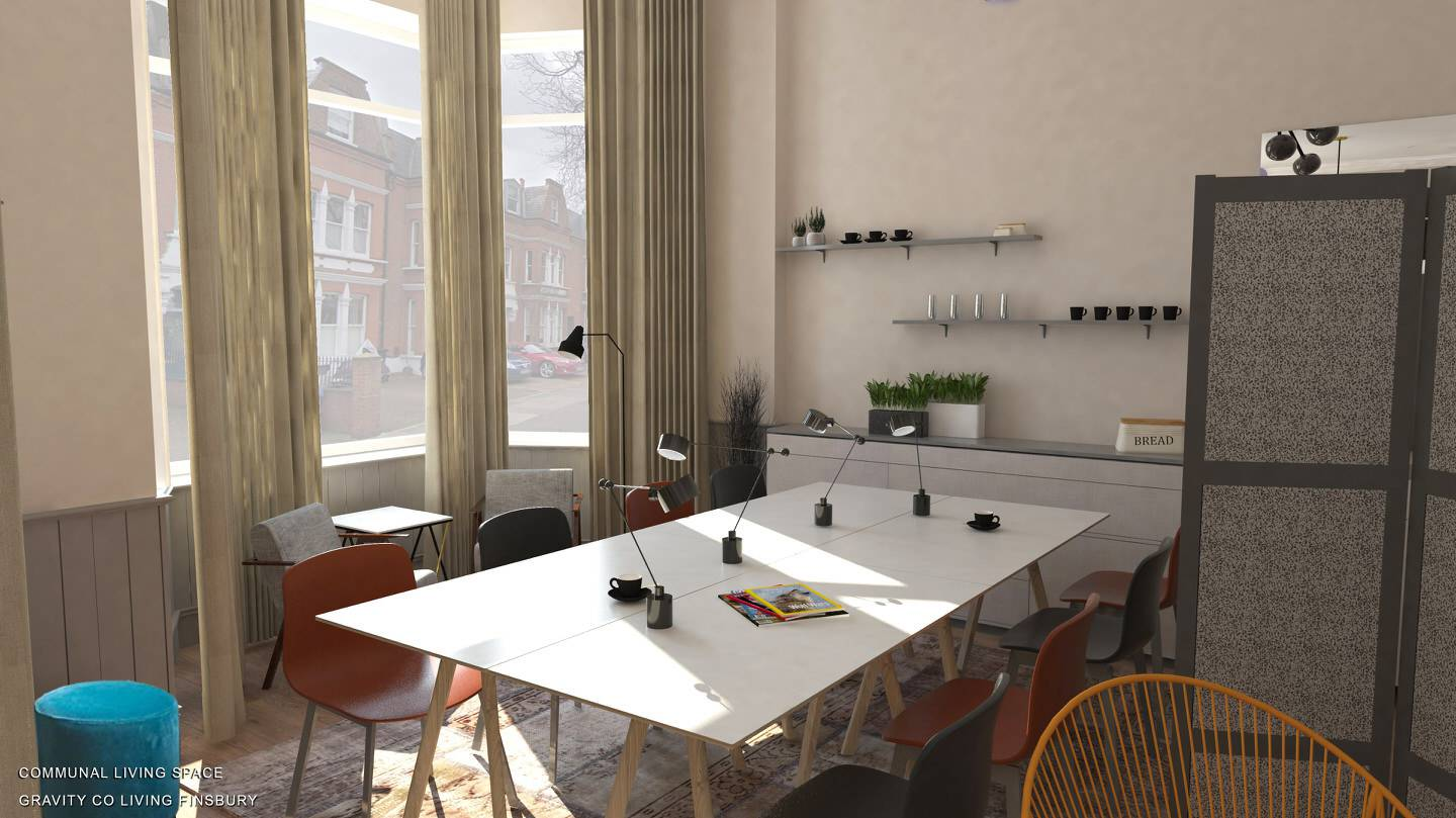 Coliving in London city