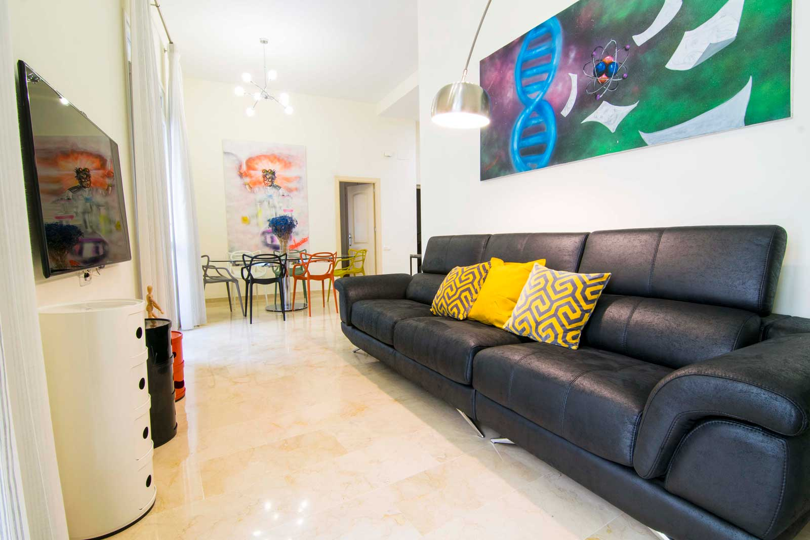 Modern apartment in Malaga city center