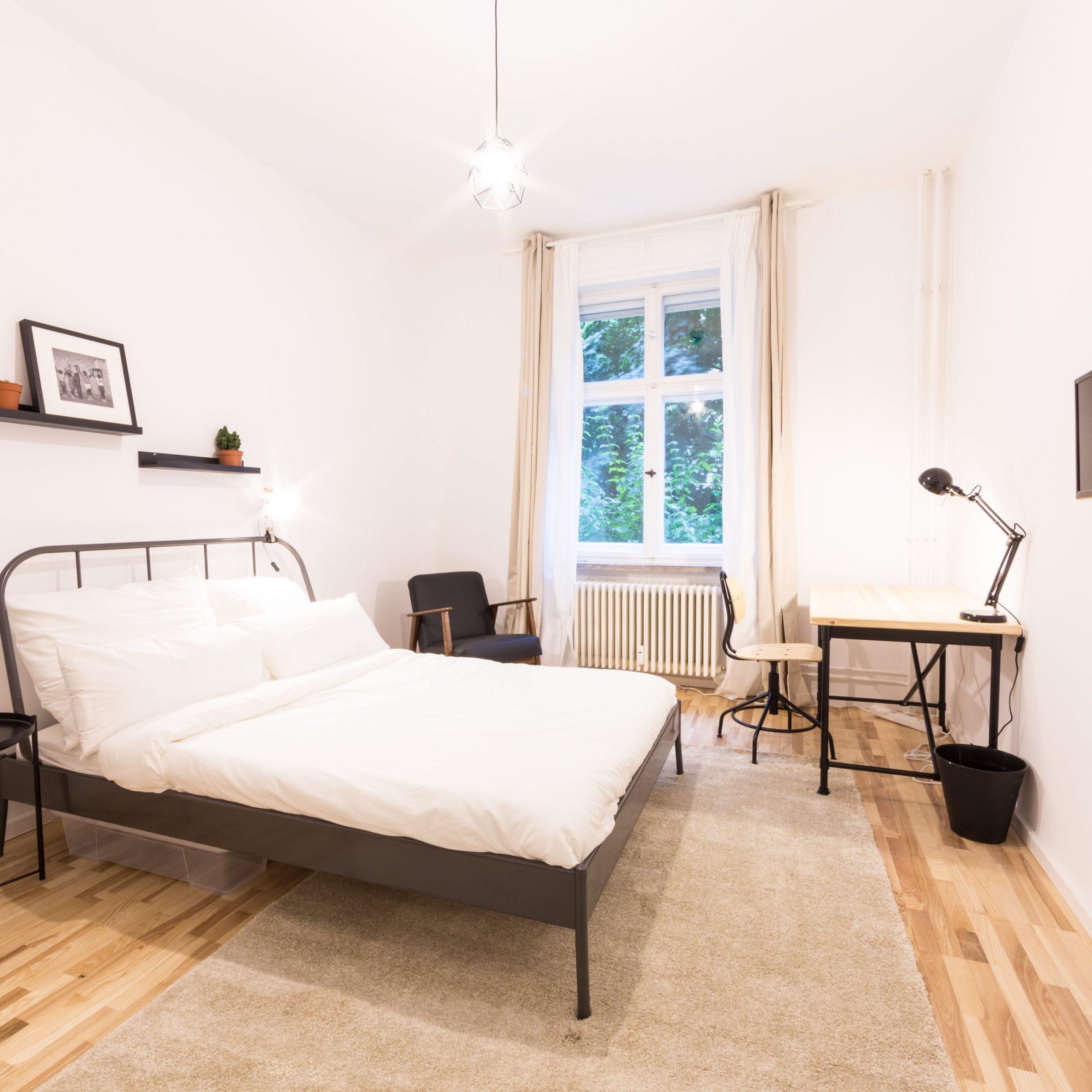 Bedroom in a shared flat in Berlin