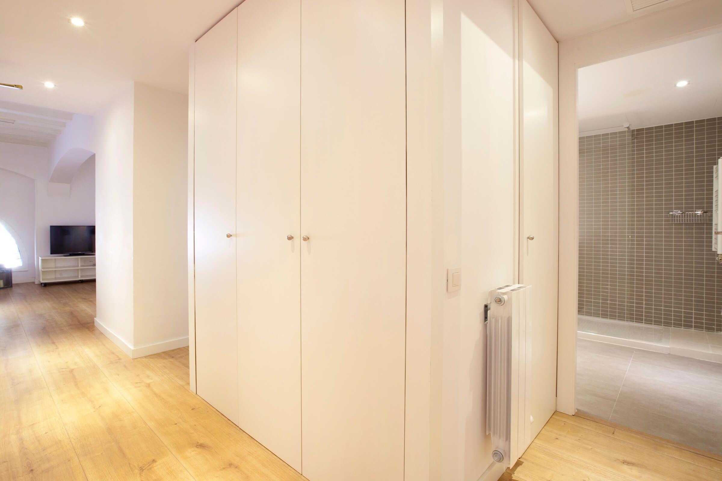 Luxury flat in Barcelona on the mezzanine floor