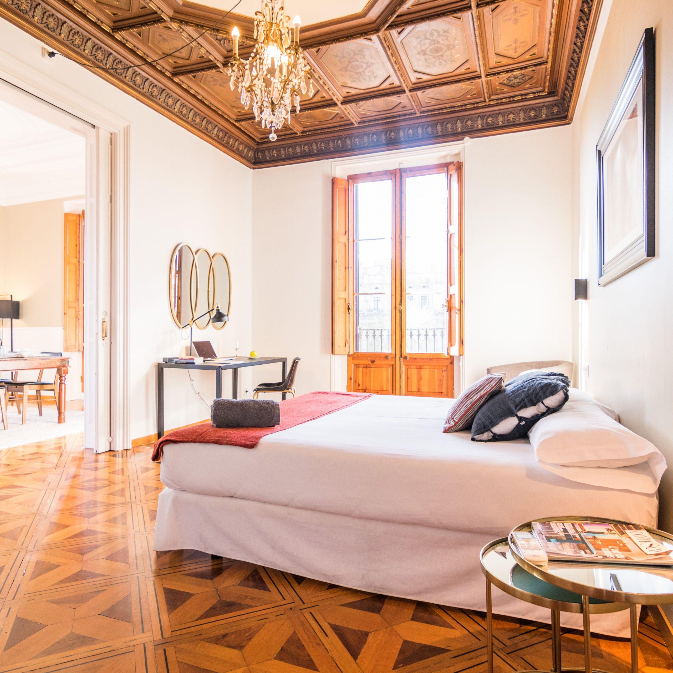 Lujosos piso junto al puerto de Barcelona
