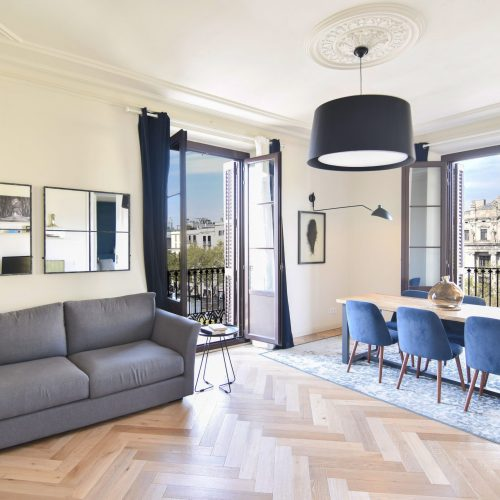 Flat in a modernist building in Barcelona