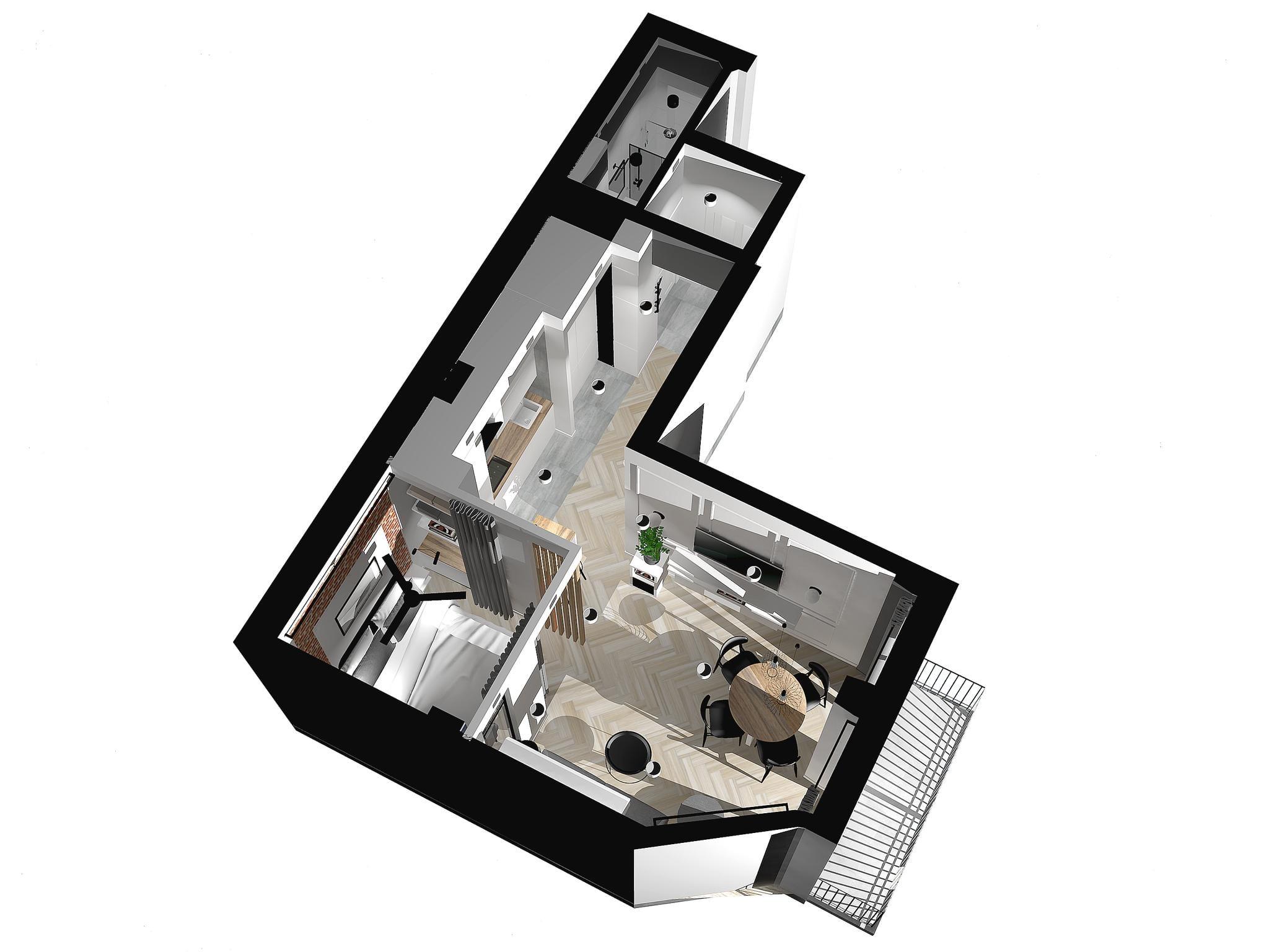Ulica - Luxury apartment in Krakow