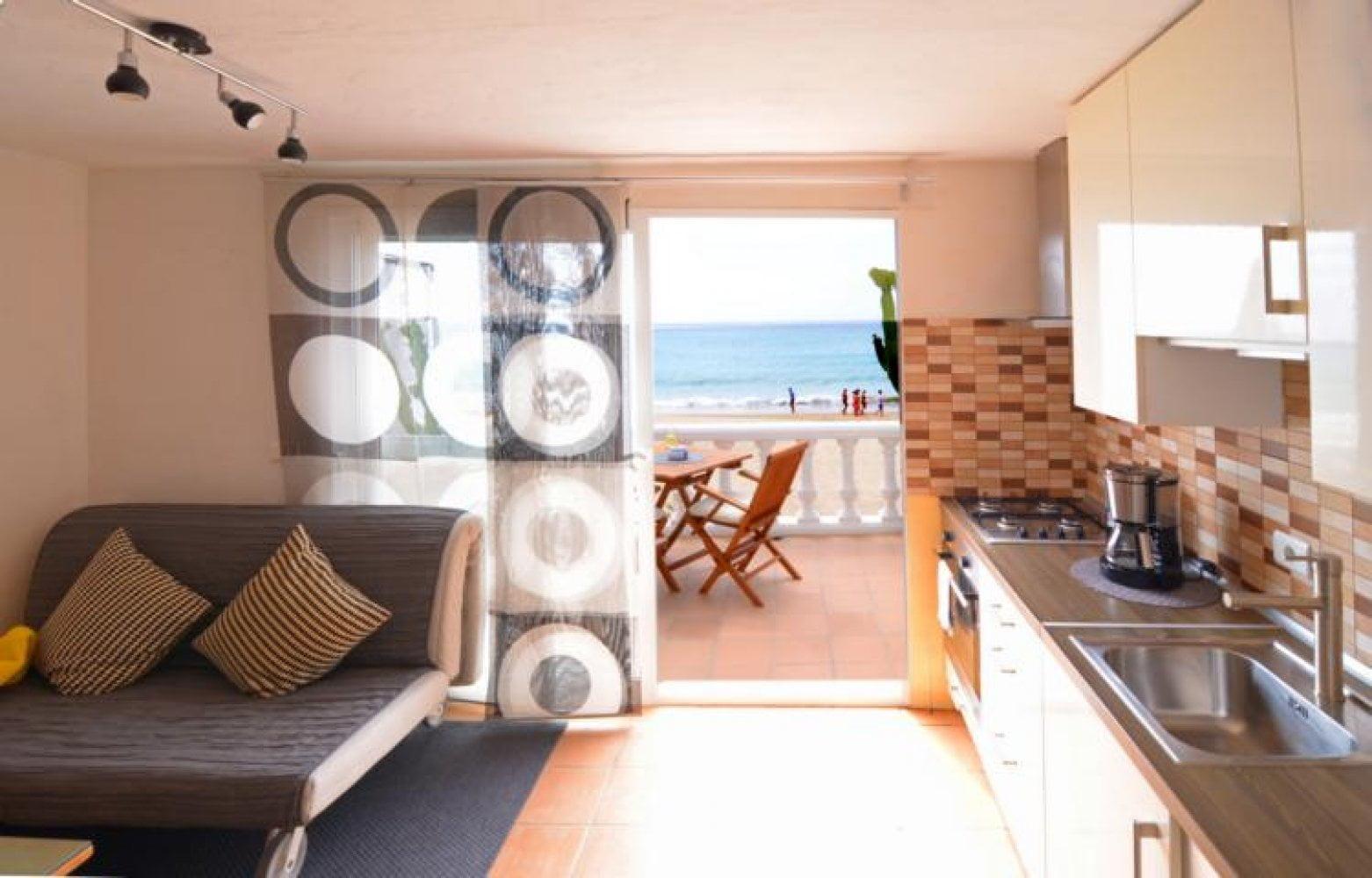 Apartamento en la playa de Fuerteventura