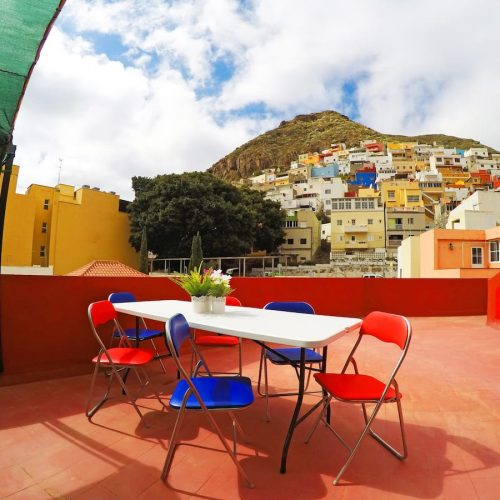 Mi Tía - Expat flat with rooftop in Tenerife