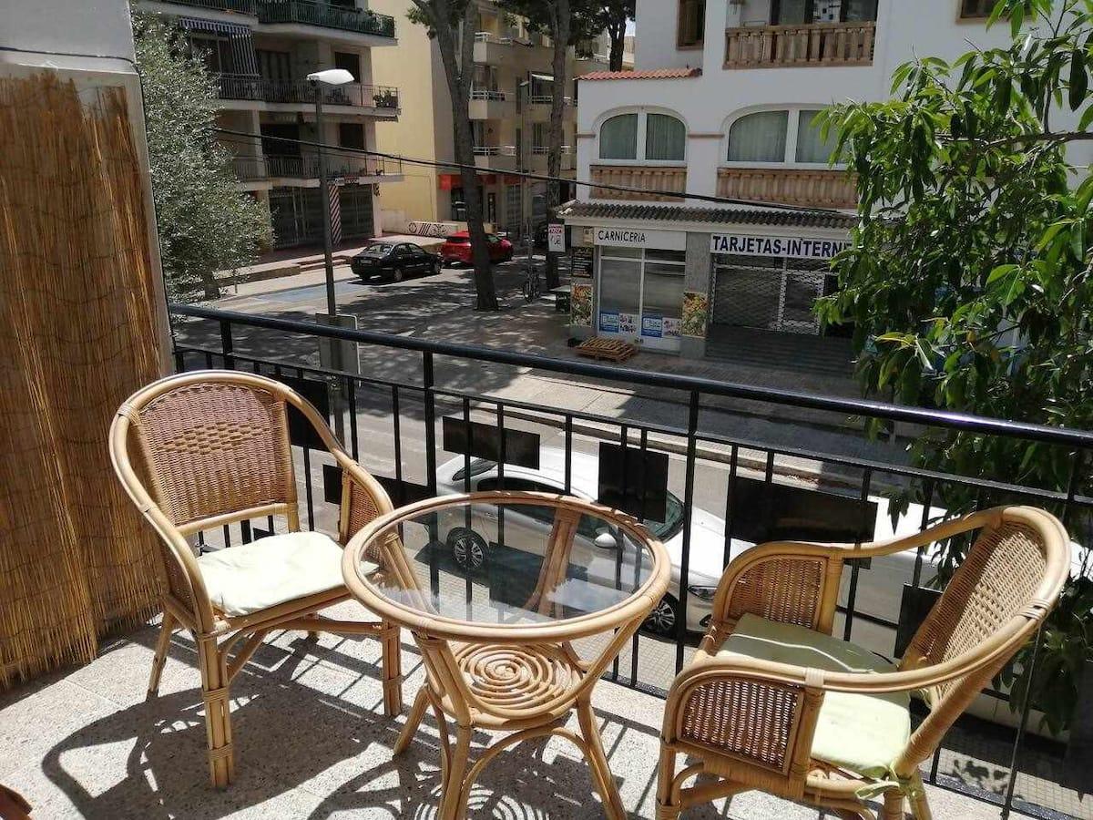 Piso con terraza en Mallorca