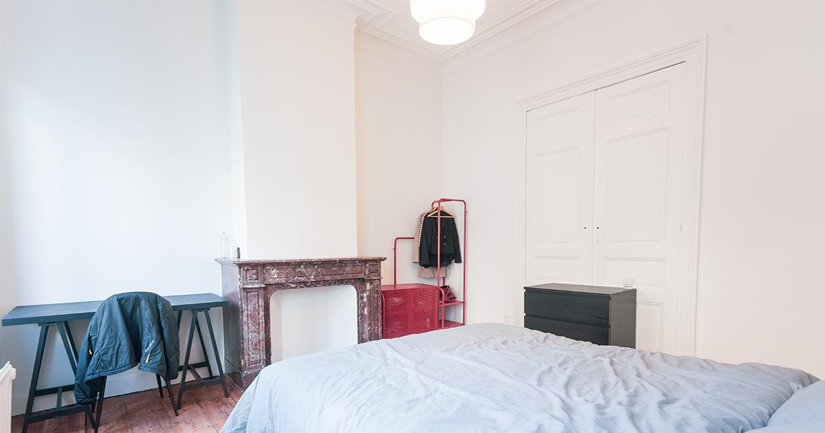 Rue du Berceau - Entry-ready bedroom in shared apartment in Brussels