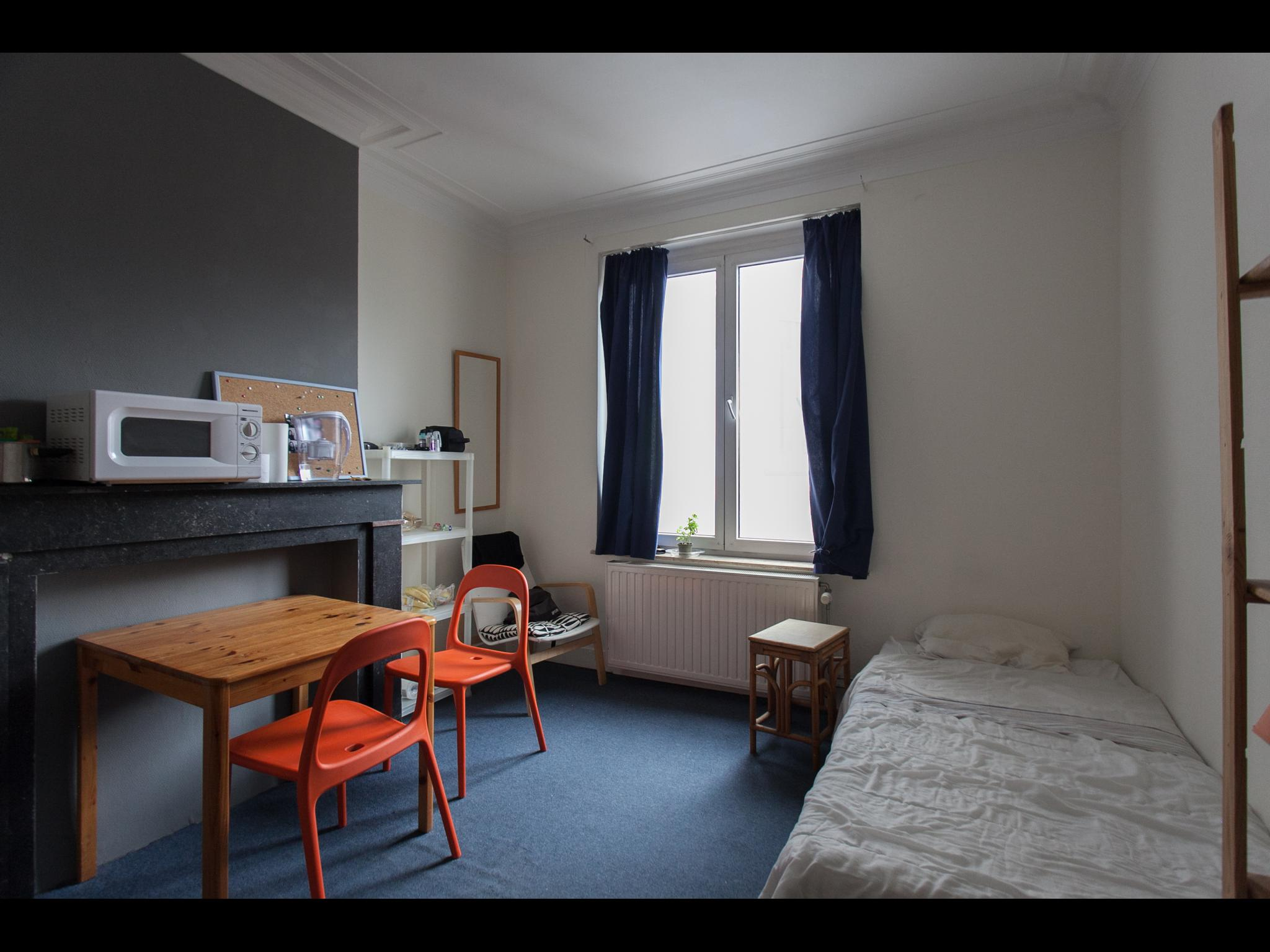 Rue Luther - Bedroom in a shared flat in Brussels
