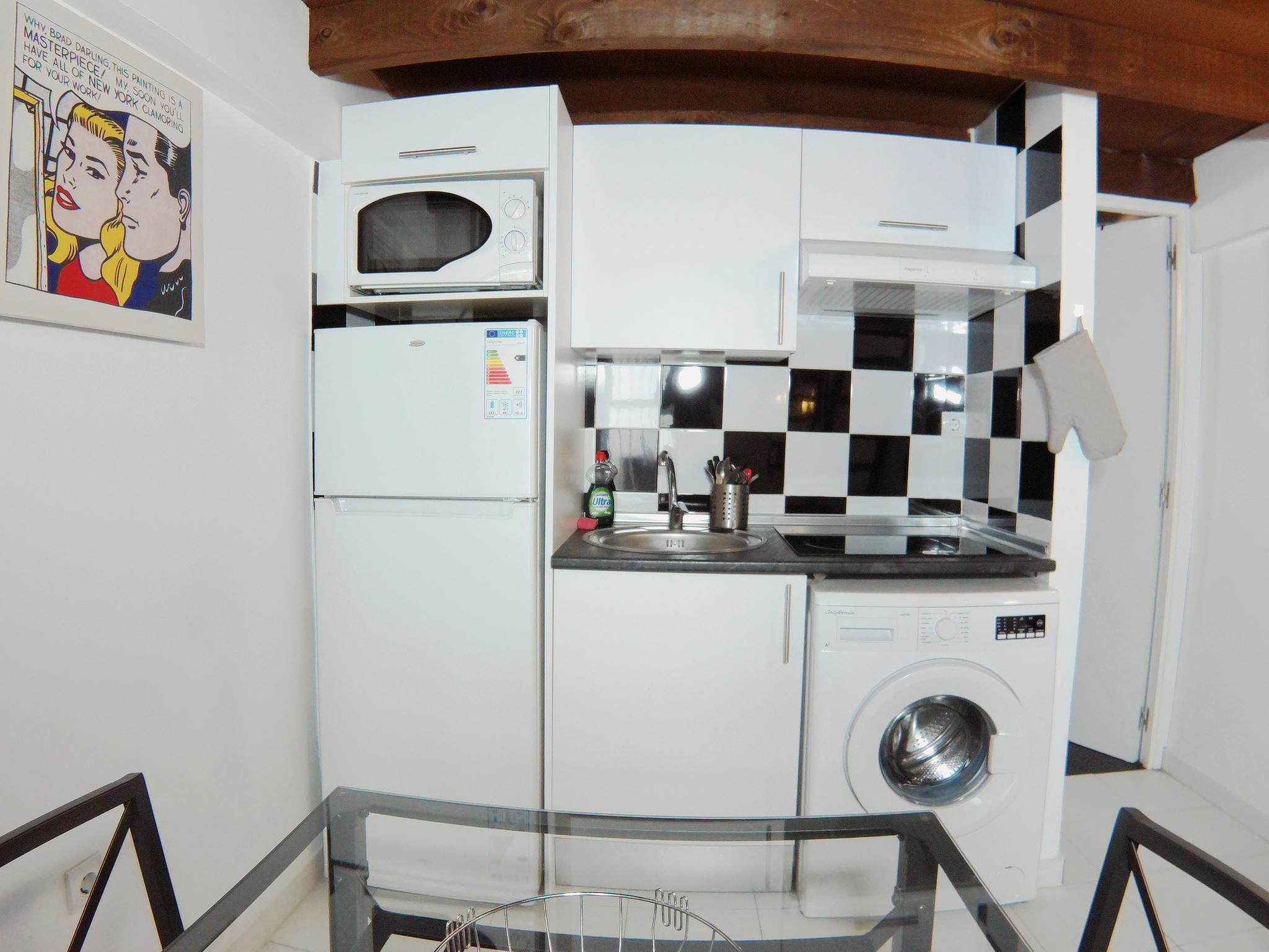 Modern loft style duplex in Madrid