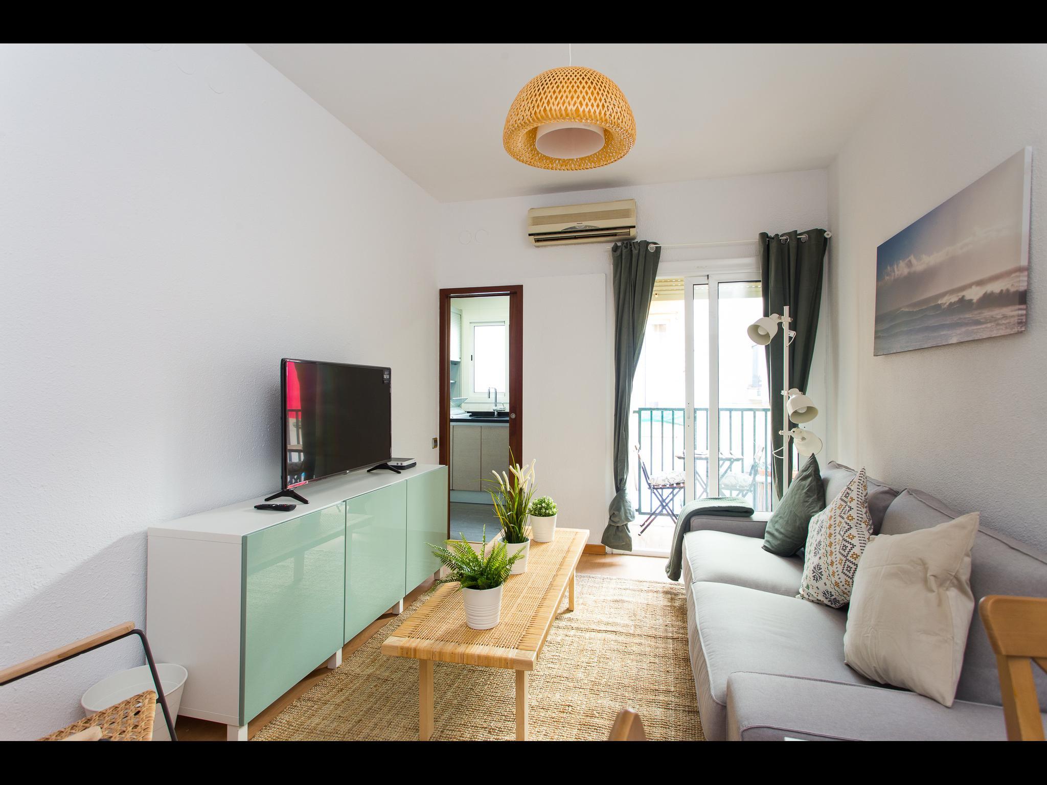 Salva - Acogedor piso de 3 dormitorios en Barcelona