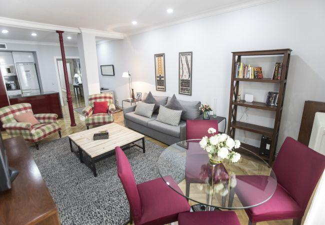 Modern and equipped flat in Madrid