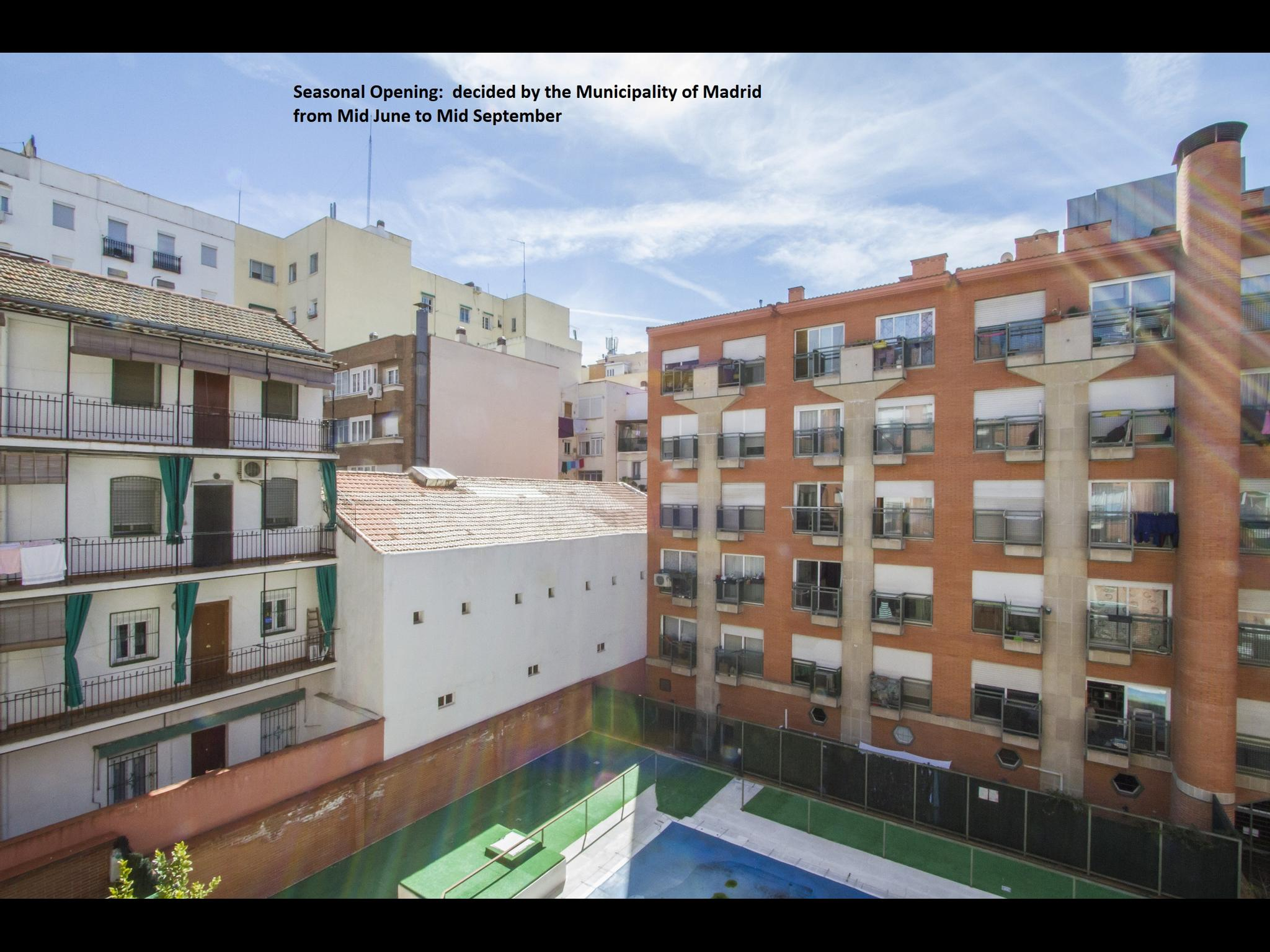 Exclusive downtown studio in Madrid
