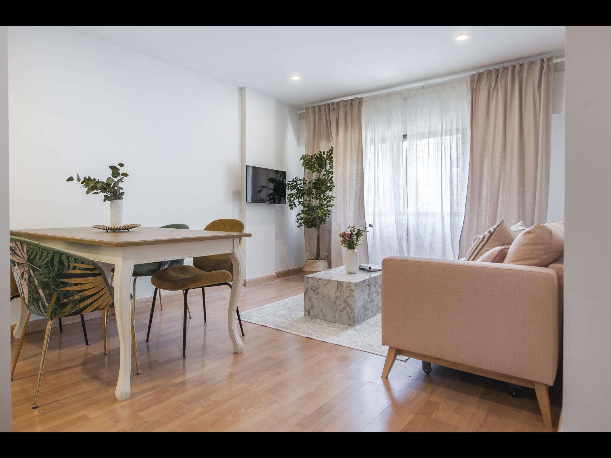 Exclusive 1 bedroom apartment in Madrid