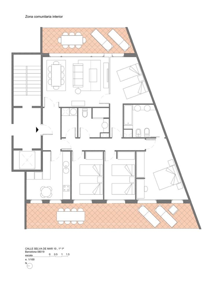 Selva - 4 Bedroom luxury flat in Barcelona
