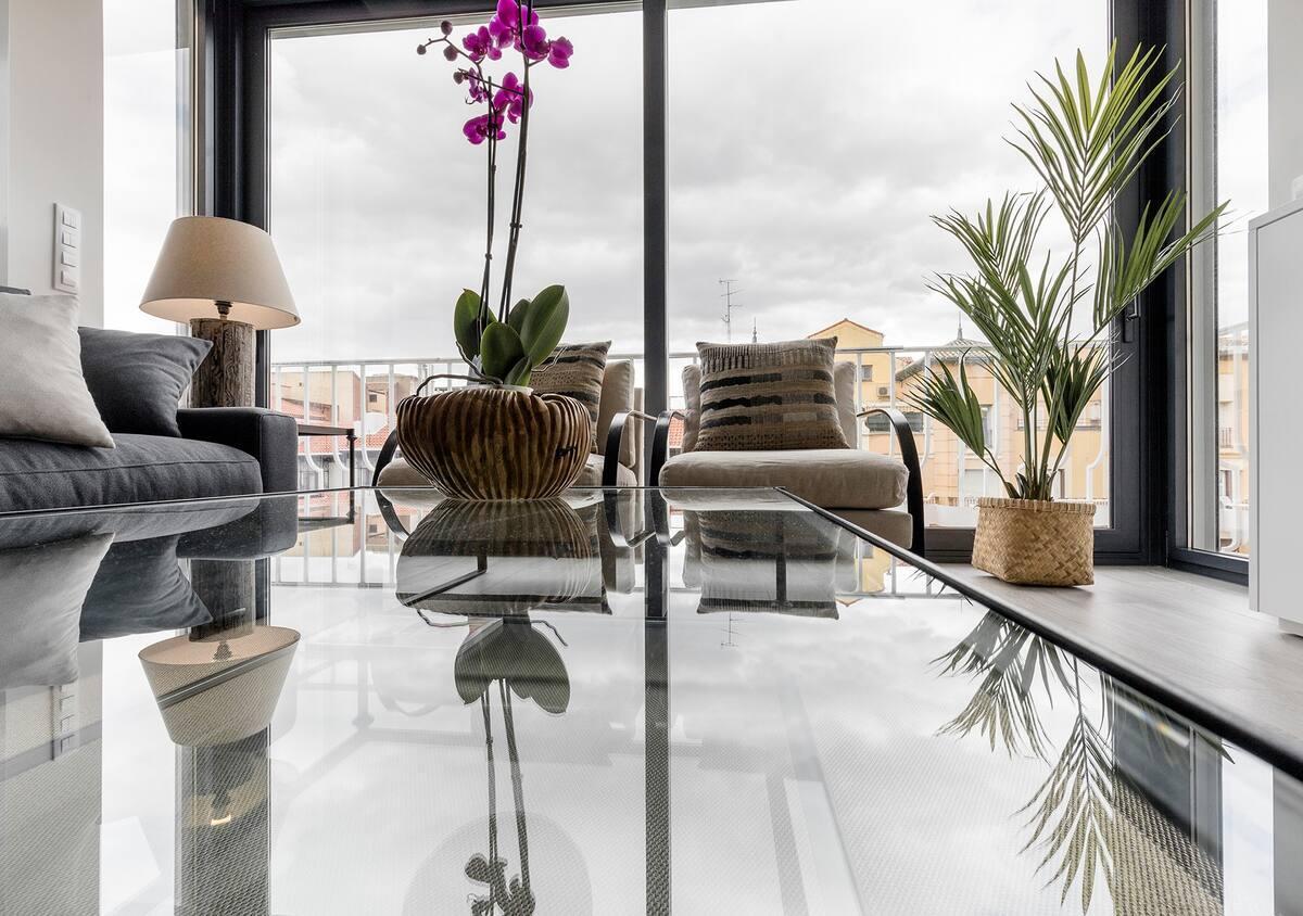 Moderno y lujoso piso en Madrid