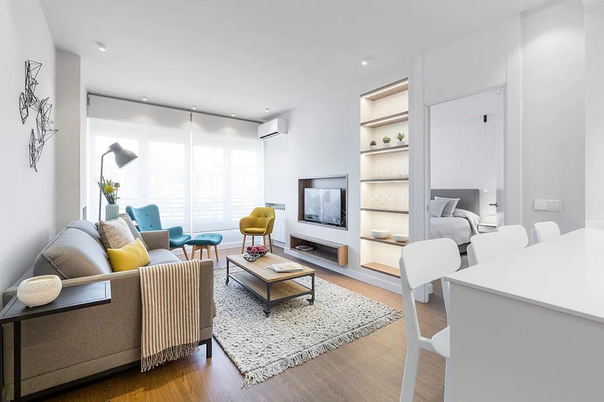 Silvela - Furnished flat in Madrid