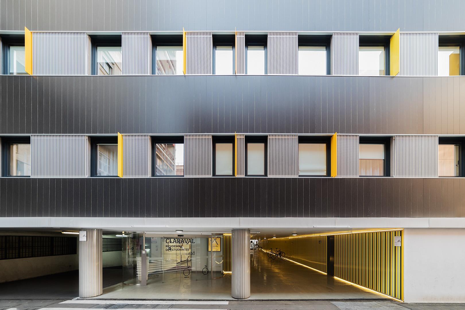 Student studio in Madrid