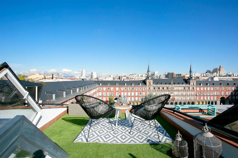 Toledo - Ático en el centro de Madrid