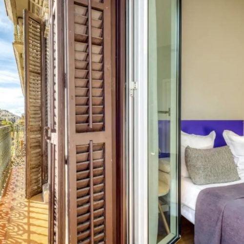 Piso céntrico de 2 dormitorios en Barcelona